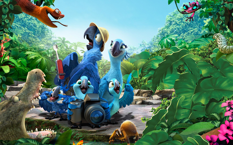 Rio 2 Movie wallpaper 3