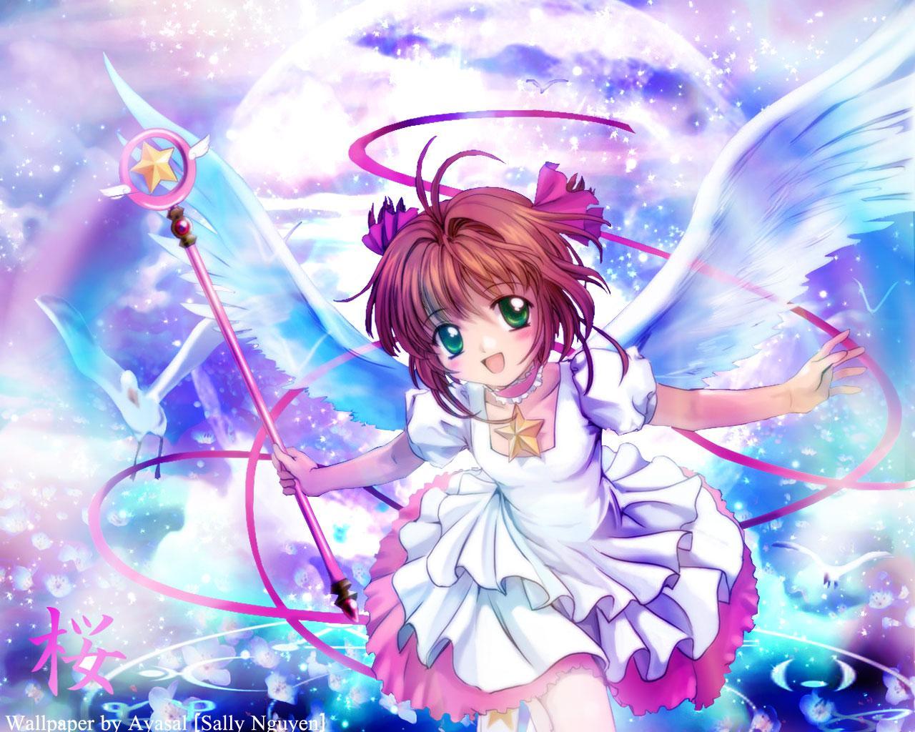 Sakura Card Captor wallpaper 11