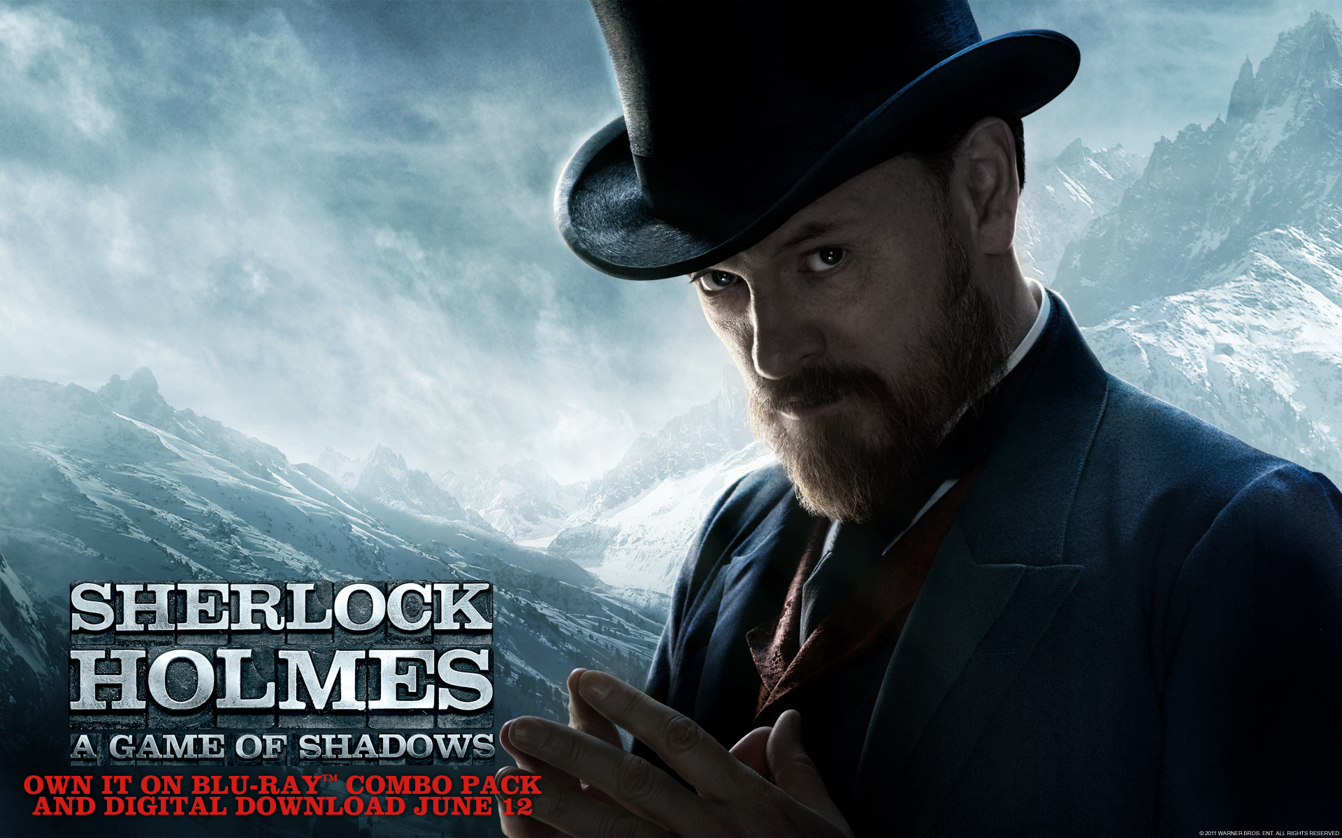 Sherlock Holmes a Game of Shadows wallpaper 4