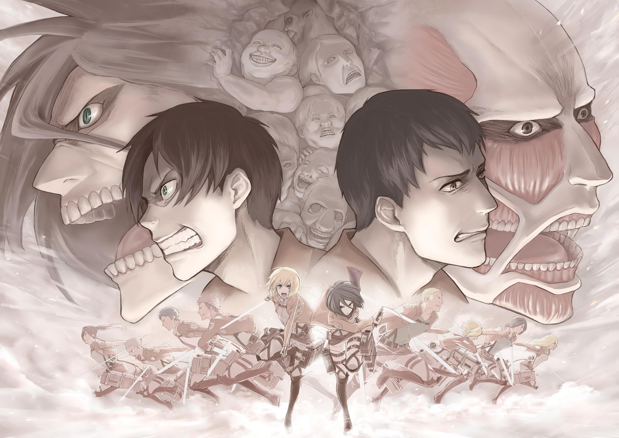 Shingeki no Kyojin wallpaper 34