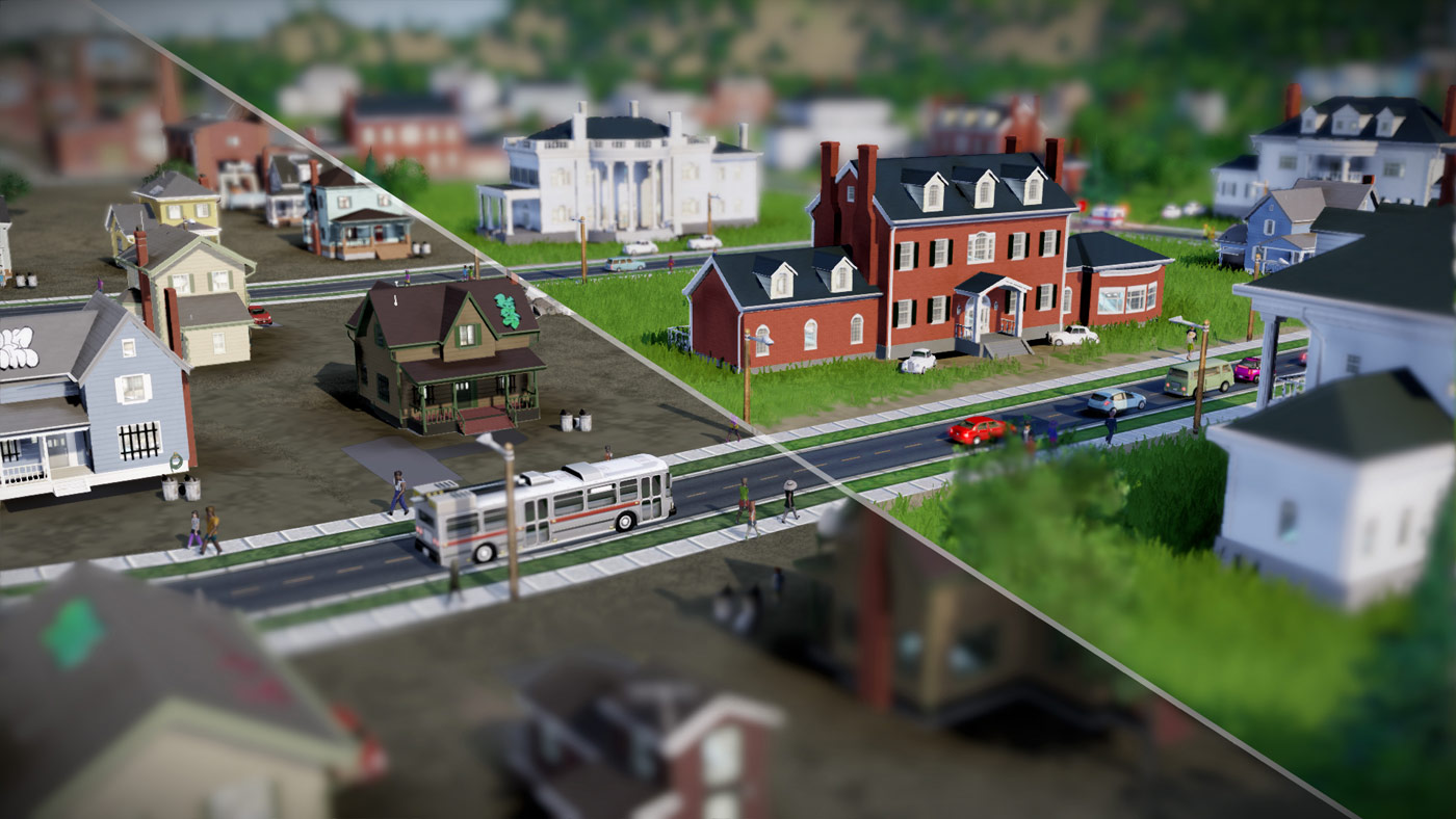 SimCity wallpaper 4