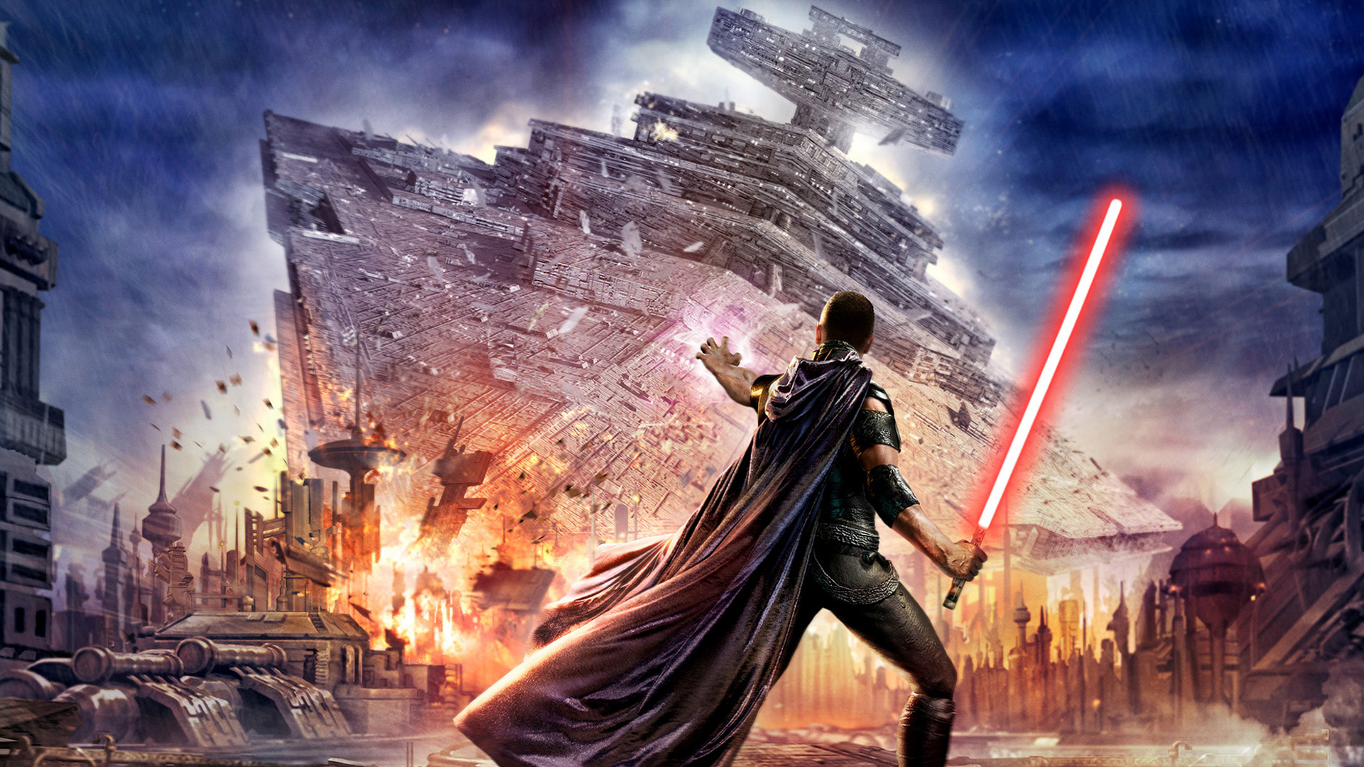 Star Wars The Force Unleashed wallpaper 14