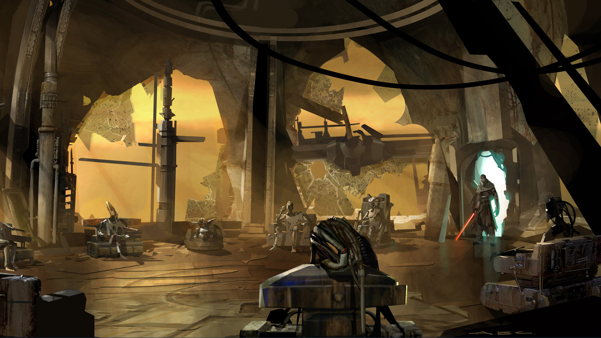 Star Wars The Force Unleashed wallpaper 7