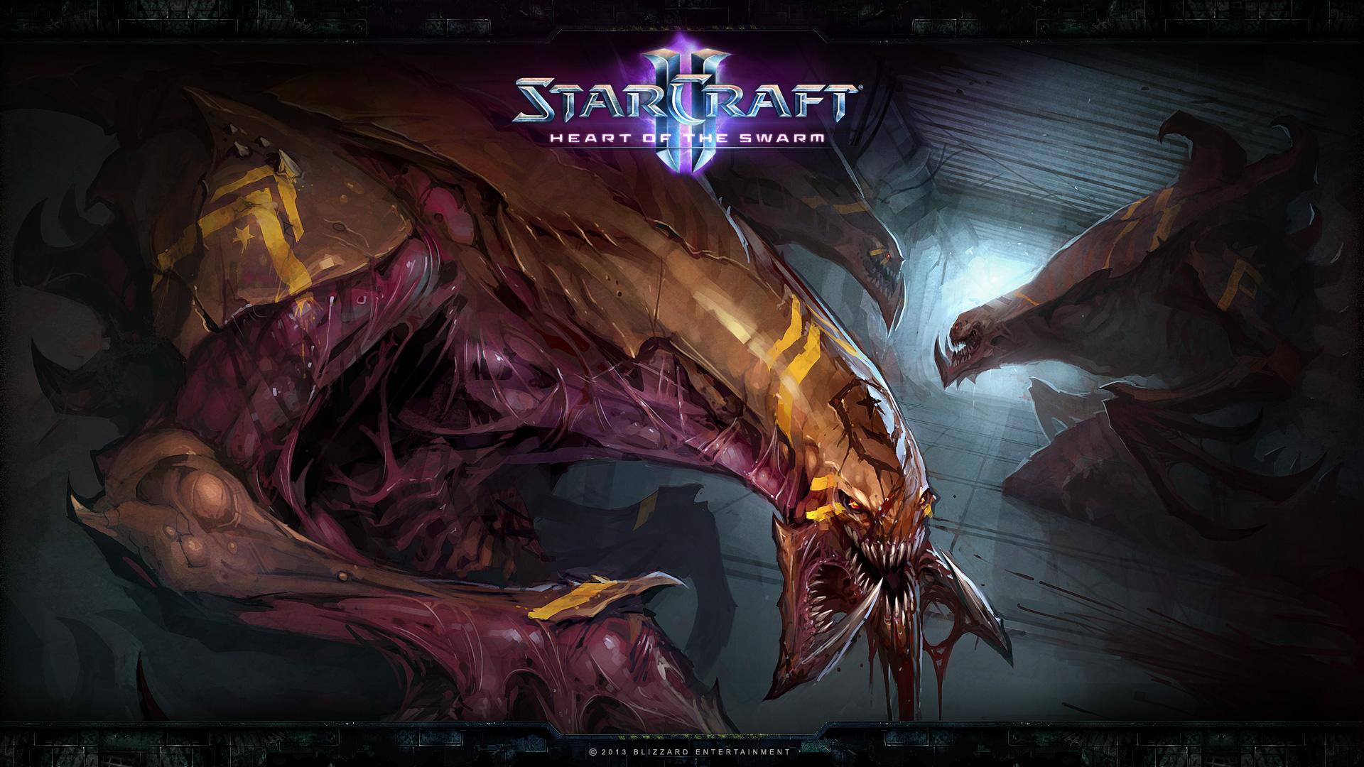 Starcraft 2 Heart of the Swarm wallpaper 12