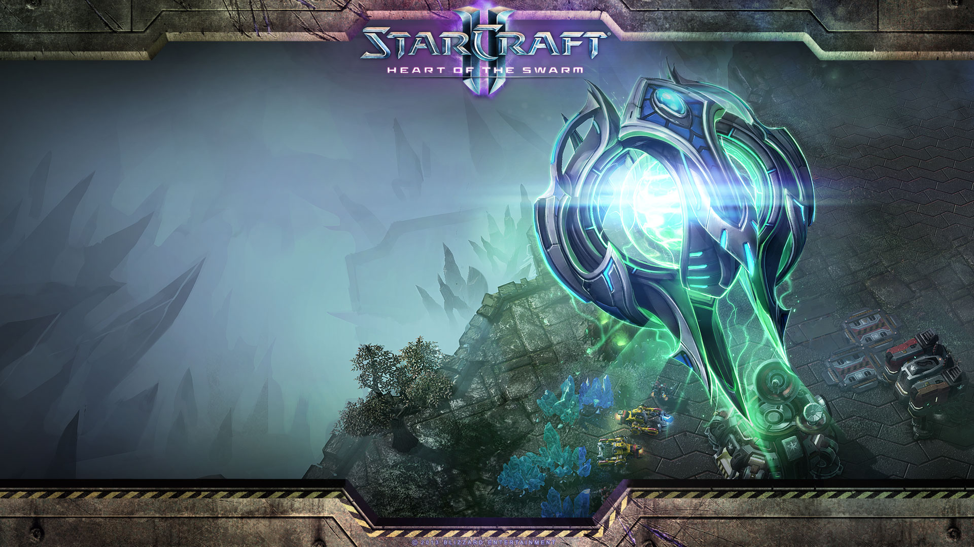 Starcraft 2 Heart of the Swarm wallpaper 17