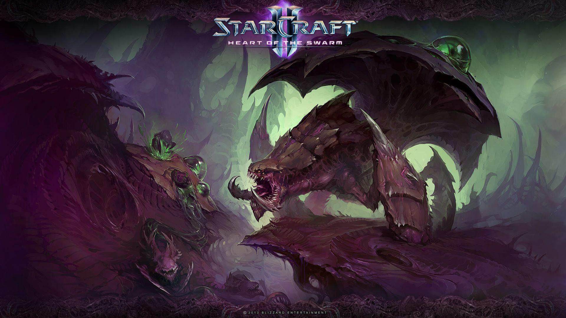 Starcraft 2 Heart of the Swarm wallpaper 18