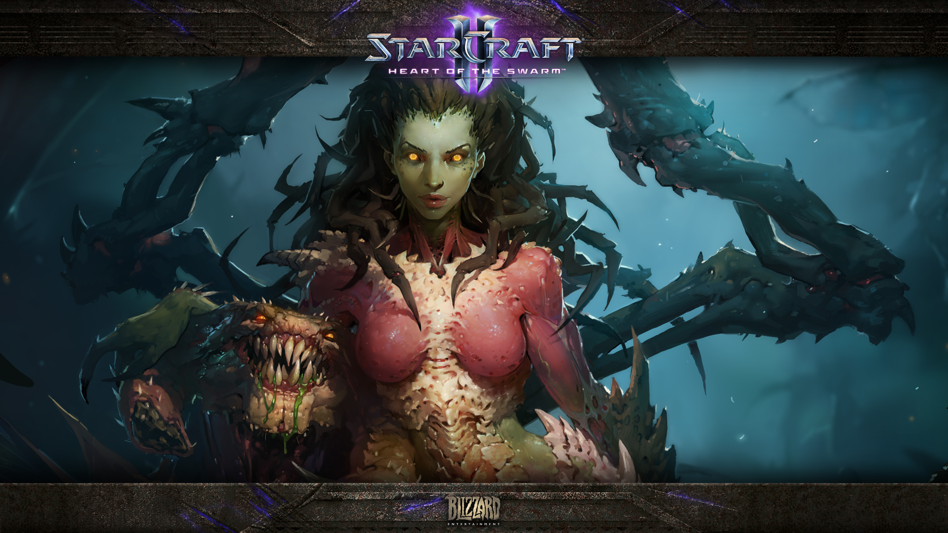 Starcraft 2 Heart of the Swarm wallpaper 7