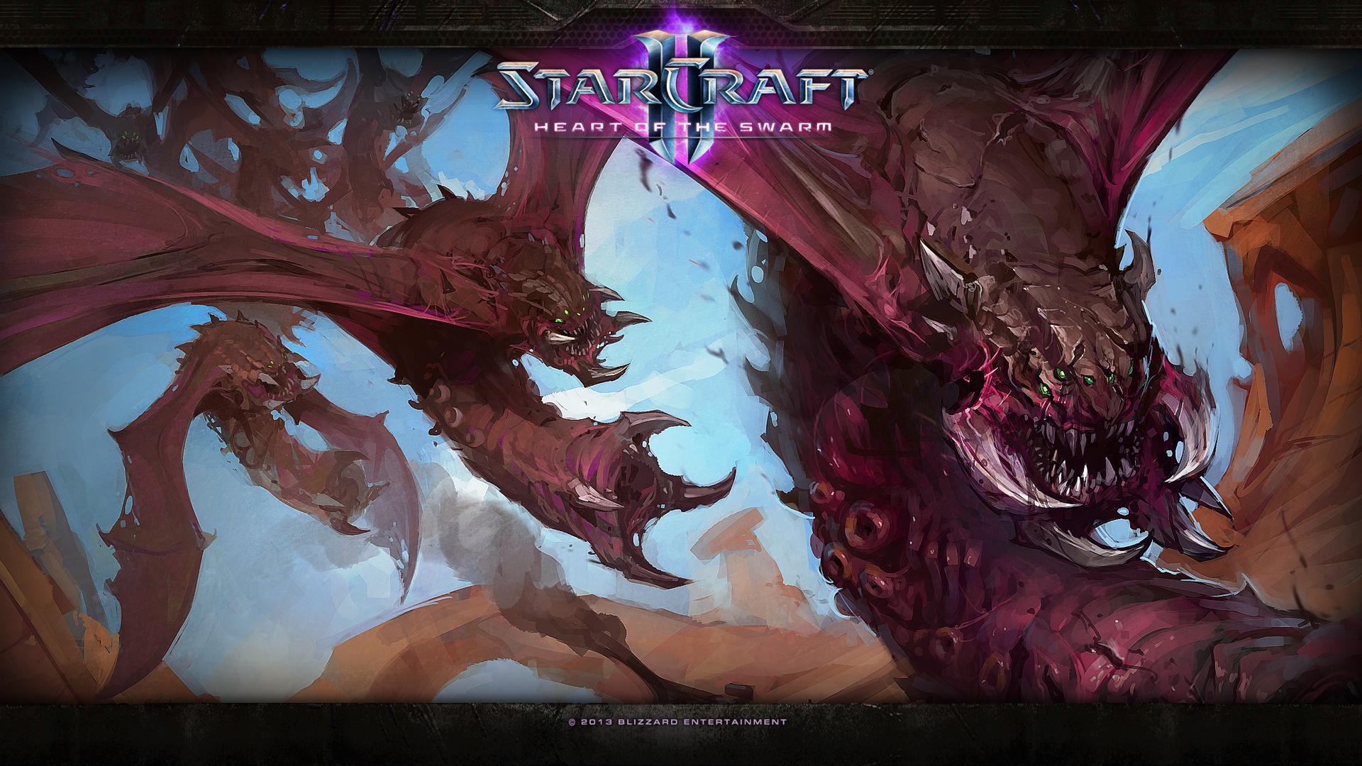 Starcraft 2 Heart of the Swarm wallpaper 8