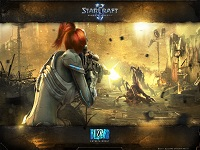 Starcraft 2 Wings of Liberty wallpaper 6