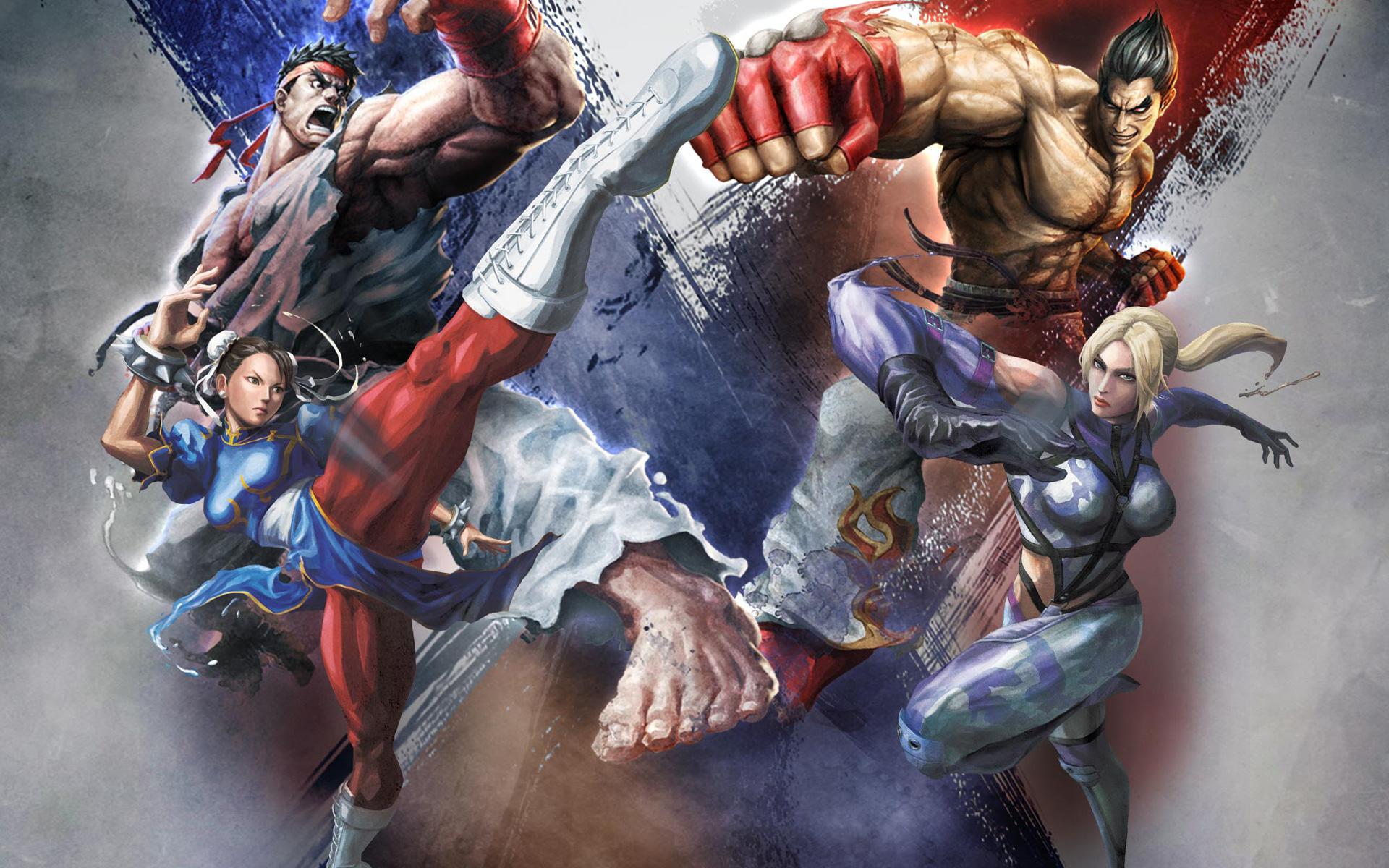 Street Fighter X Tekken wallpaper 2