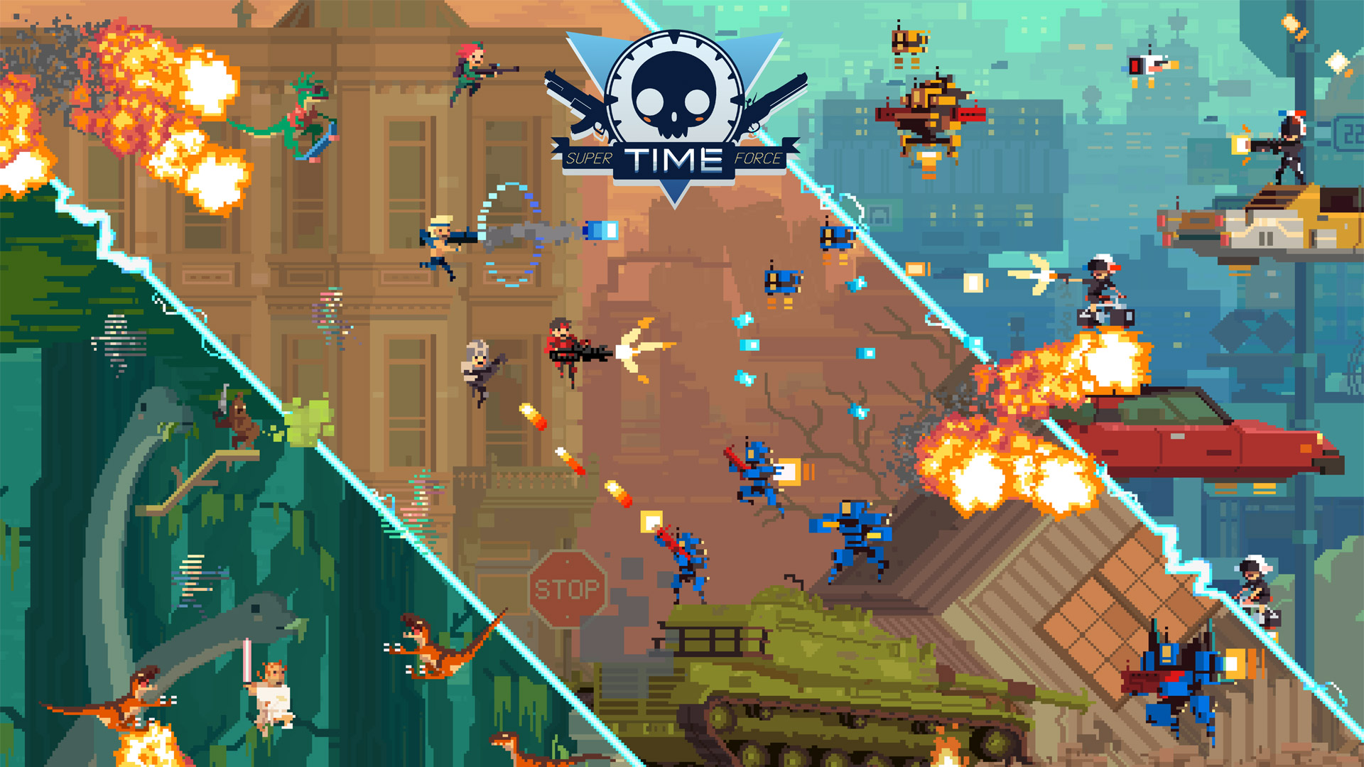 Super Time Force wallpaper 2