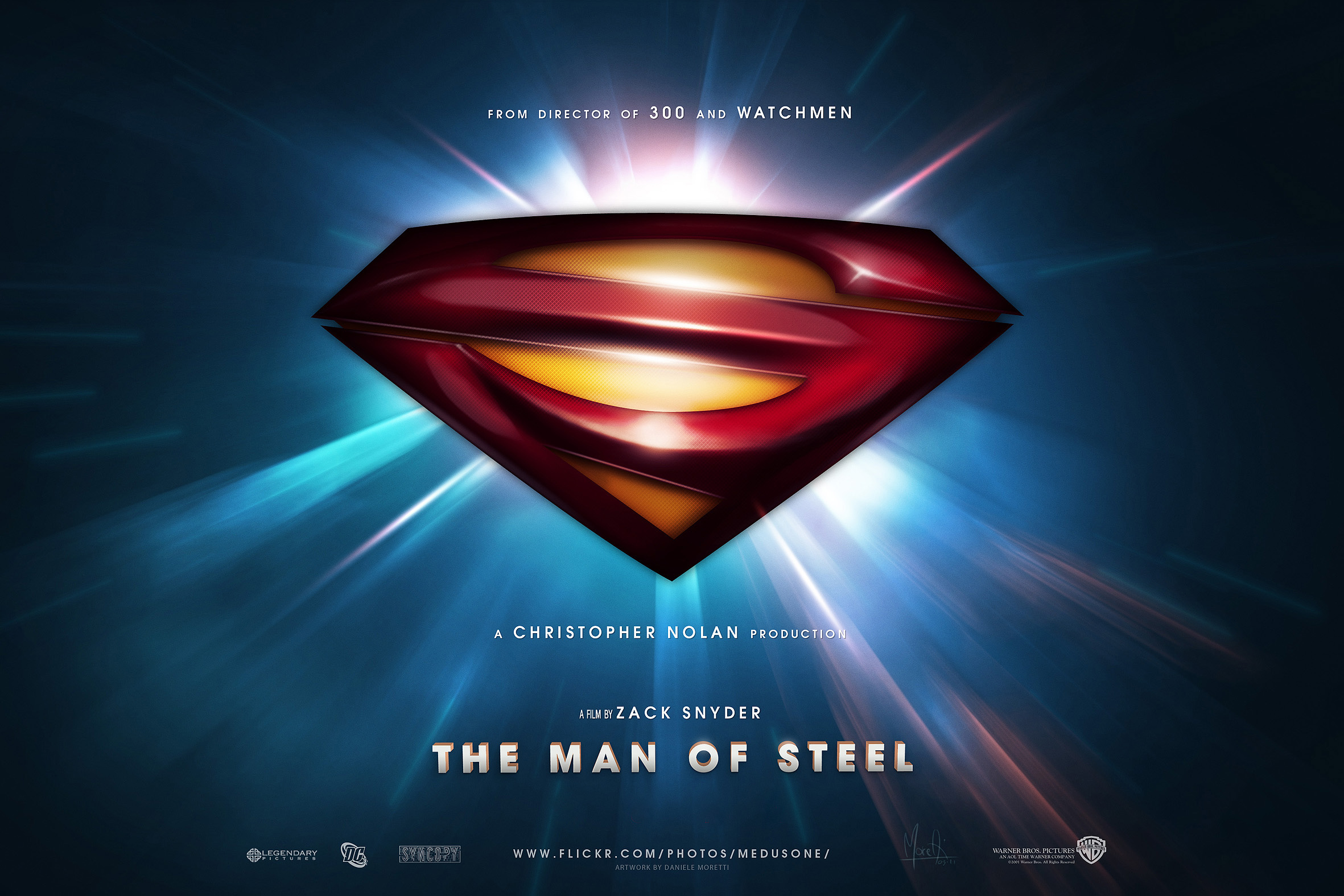 Superman Man of Steel wallpaper 3