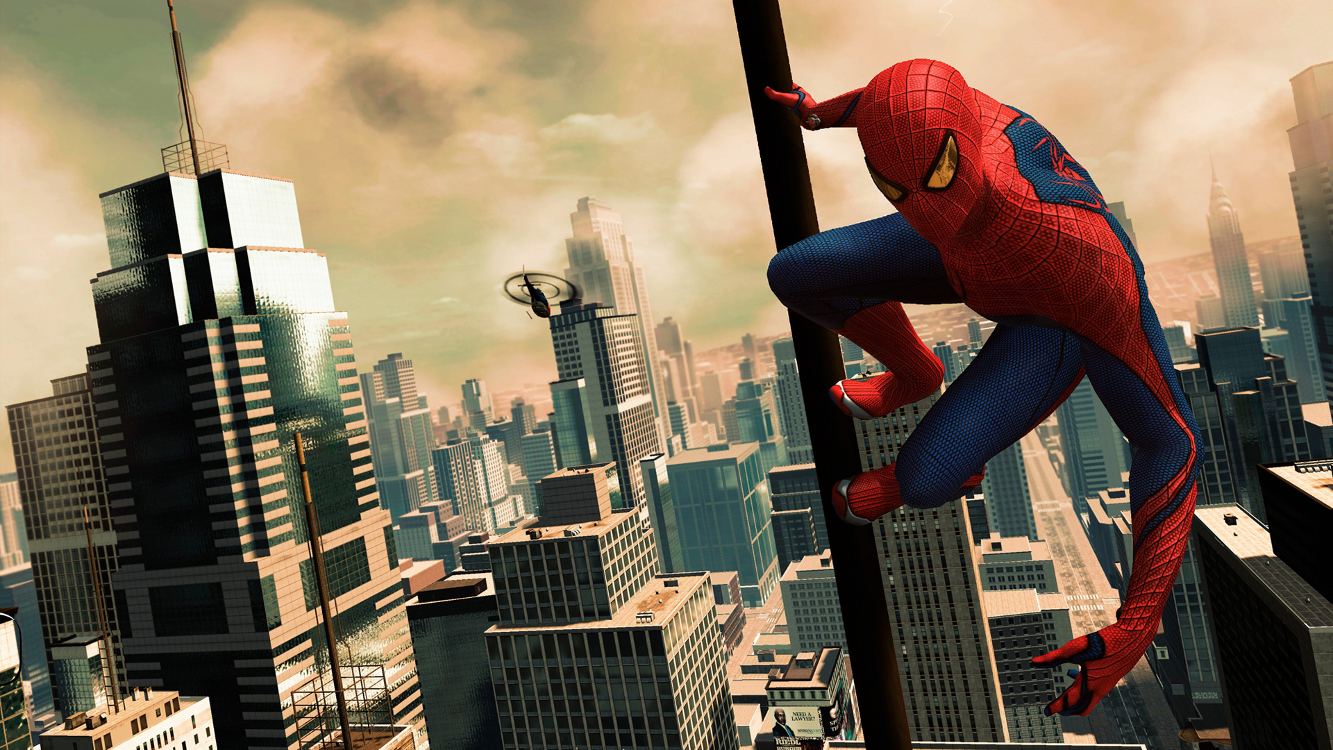 The Amazing Spider-Man Game wallpaper 1