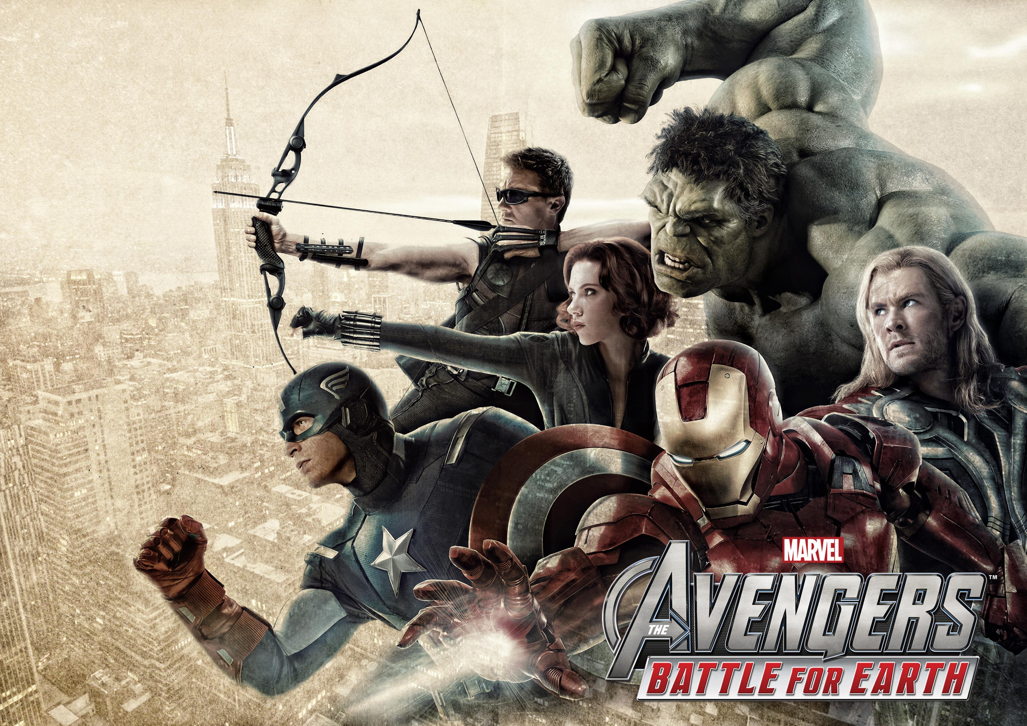 The Avengers Battle for Earth wallpaper 1