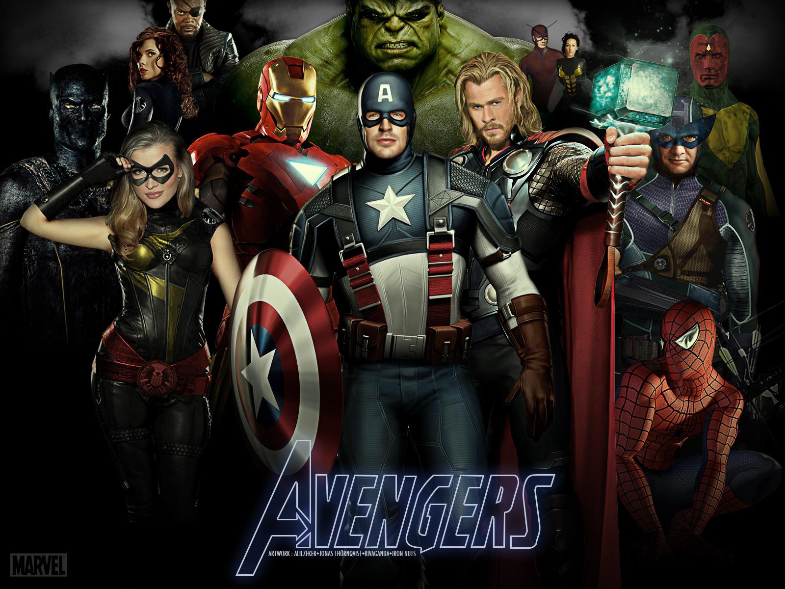 The Avengers wallpaper 2