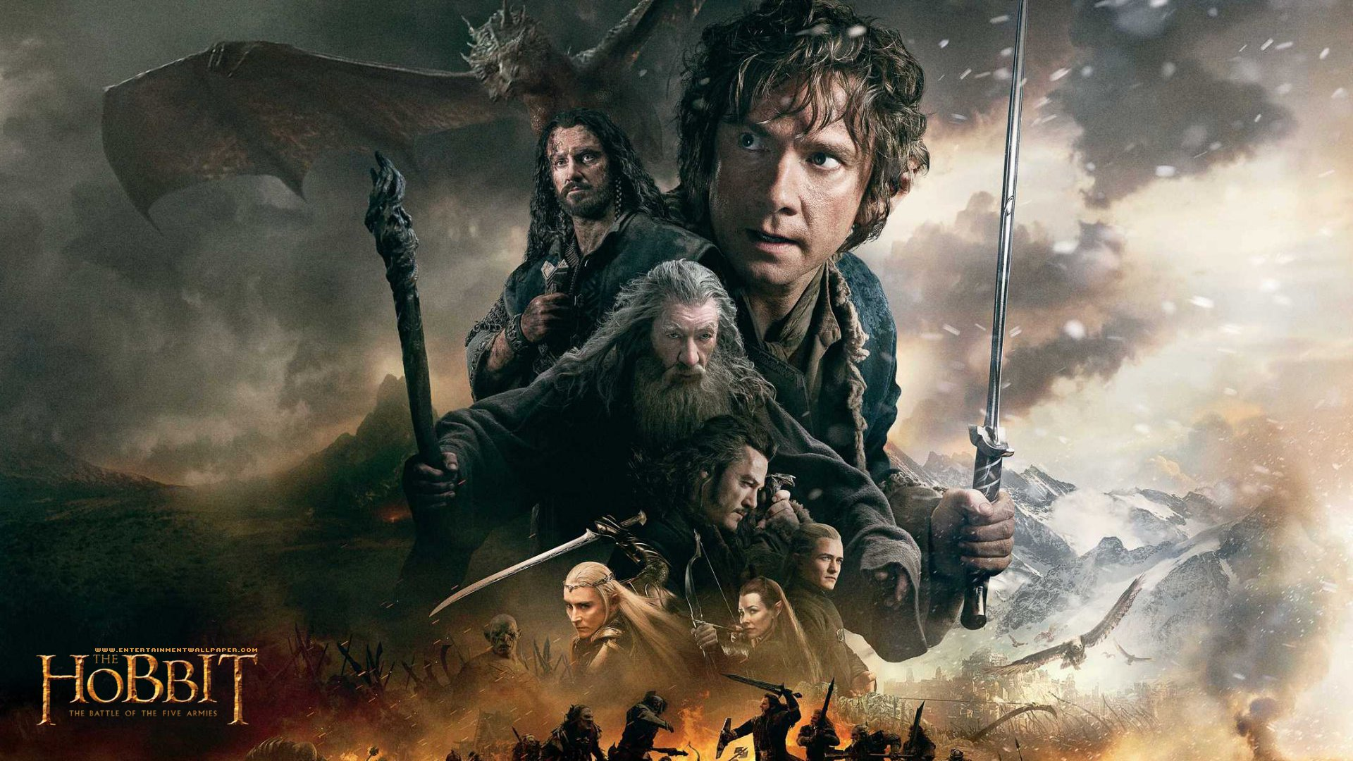 The Hobbit the Battle of the Five Armies wallpaper 6