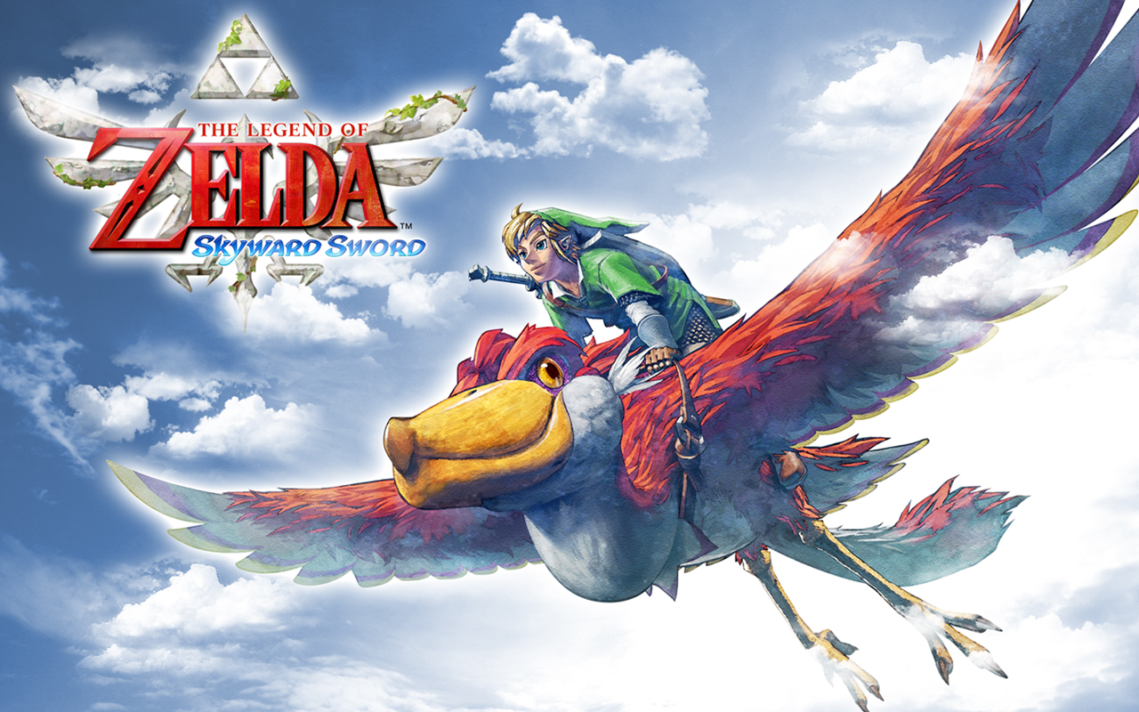 The Legend Of Zelda Skyward Sword Wallpaper 1 Wallpapersbq