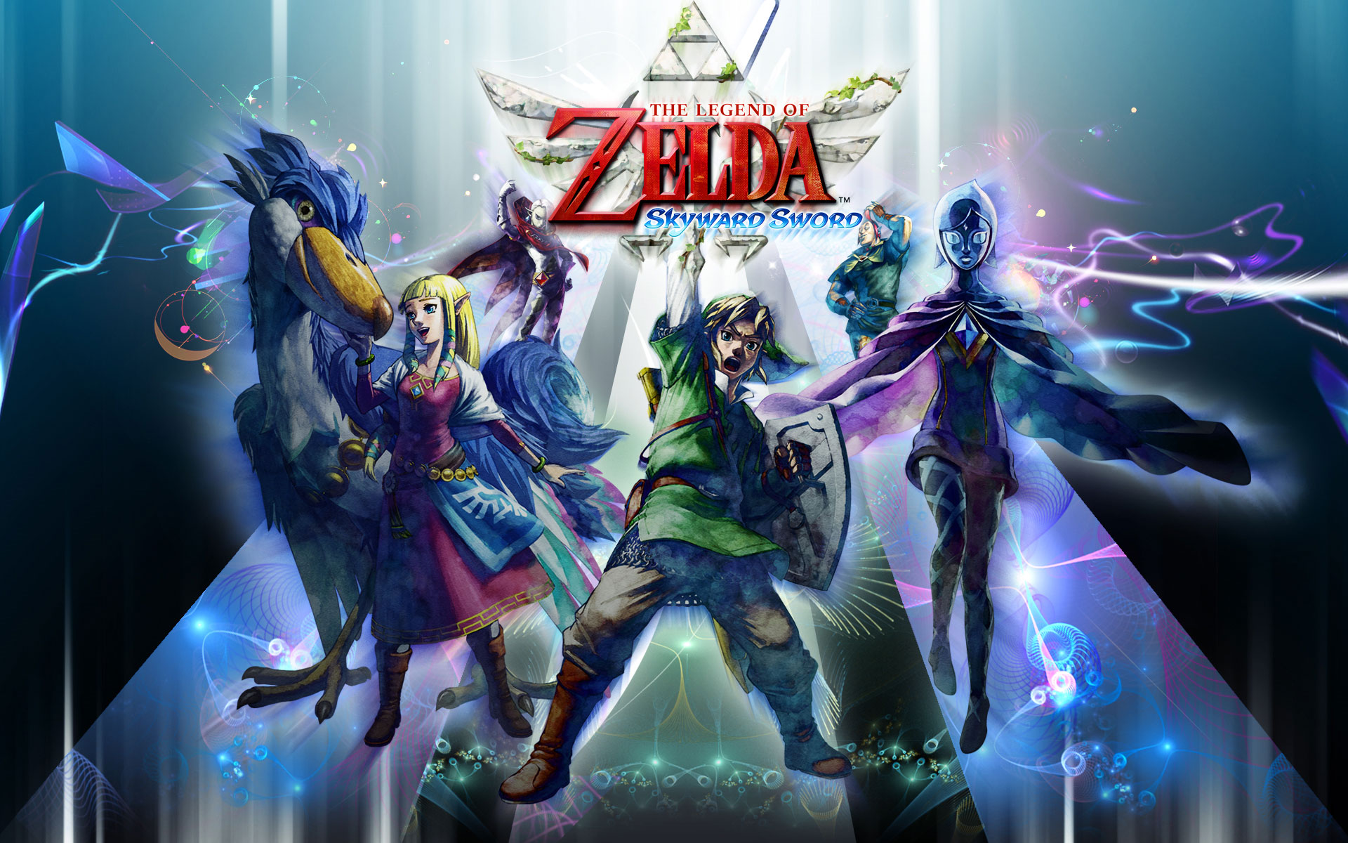The Legend of Zelda Skyward Sword wallpaper 13