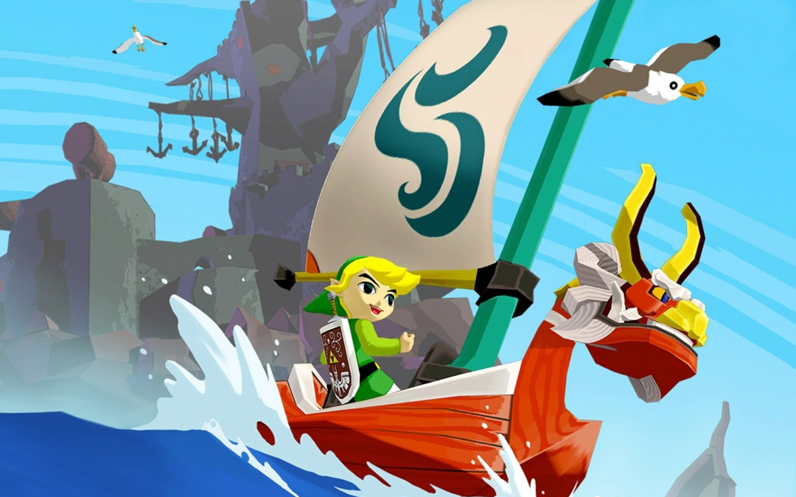The Legend of Zelda The Wind Waker wallpaper 4