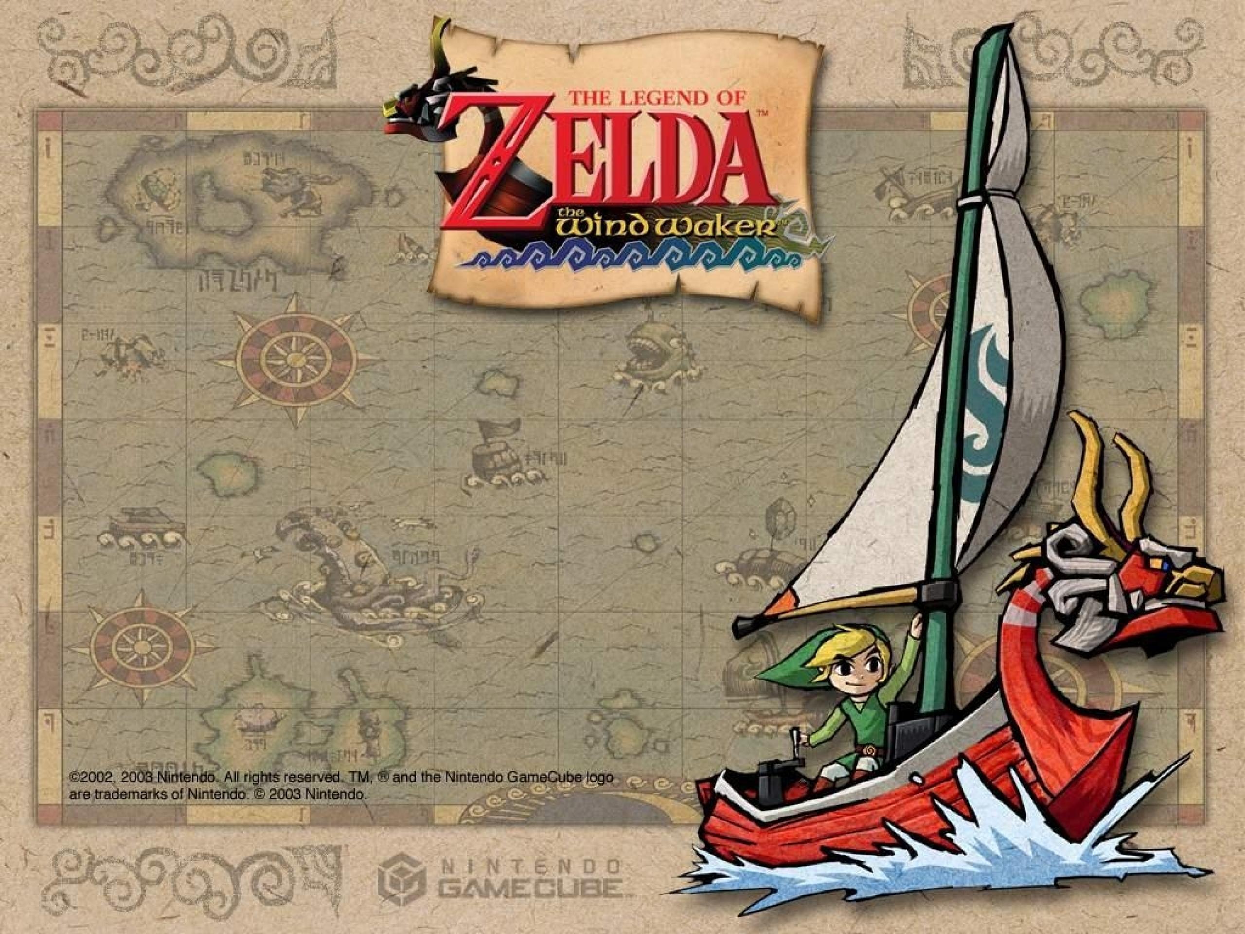 The Legend Of Zelda The Wind Waker Wallpaper 5 Wallpapersbq