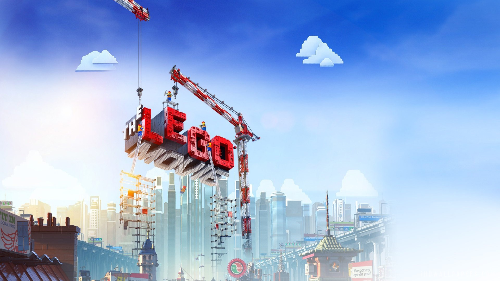 The Lego Movie wallpaper 2