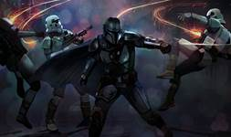 The Mandalorian fight