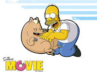 The Simpsons The Movie wallpaper 17