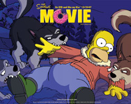 The Simpsons The Movie wallpaper 2