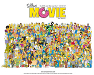 The Simpsons The Movie wallpaper 4