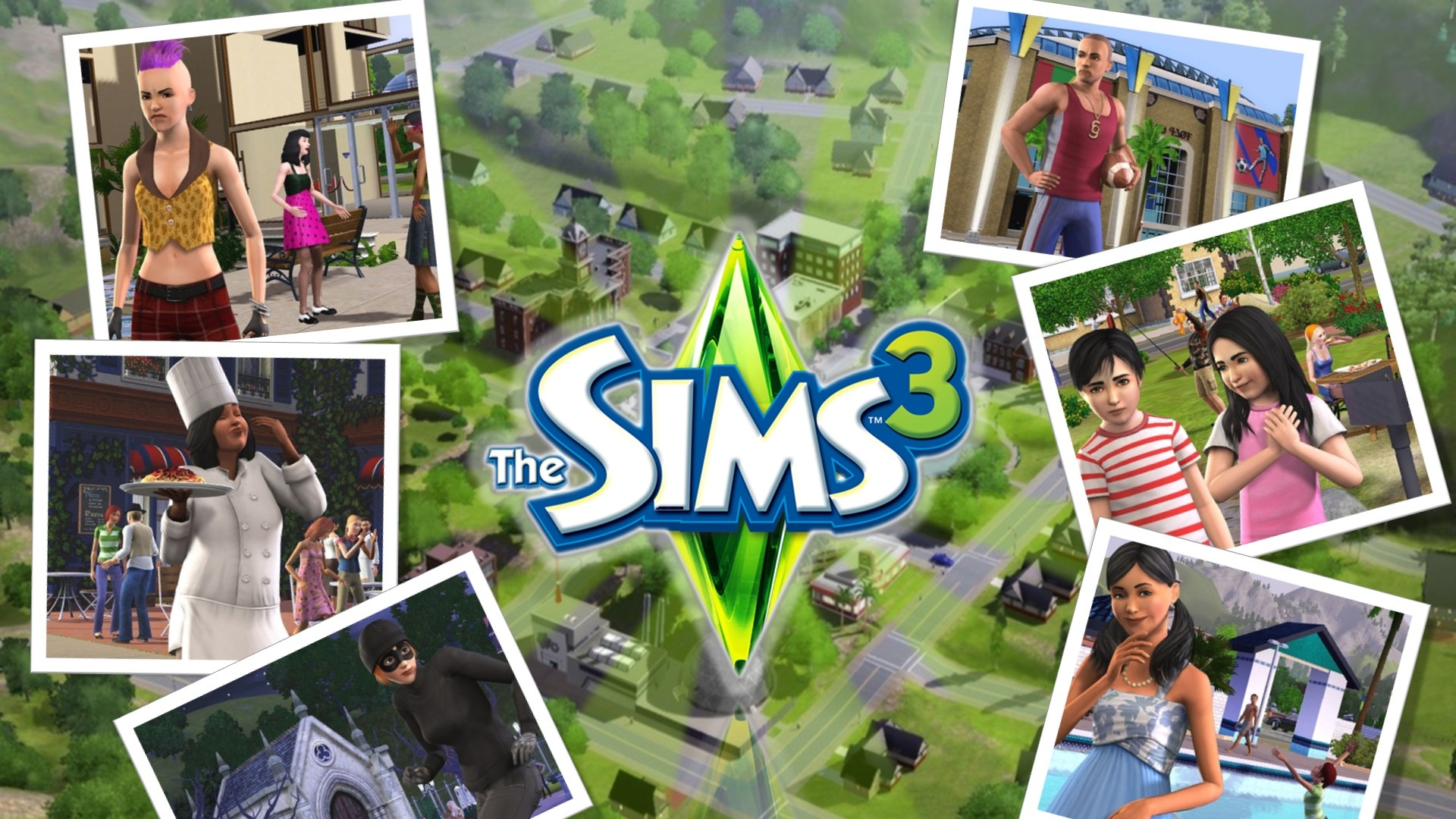 The Sims 3 wallpaper 2