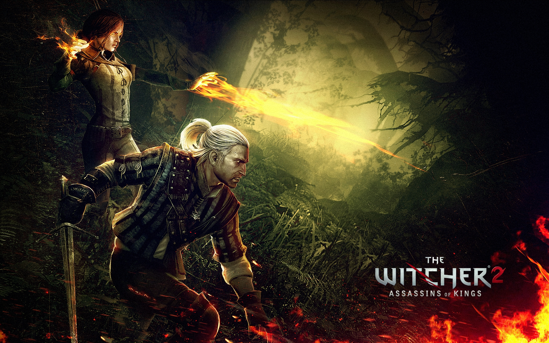 The Witcher 2 wallpaper 2
