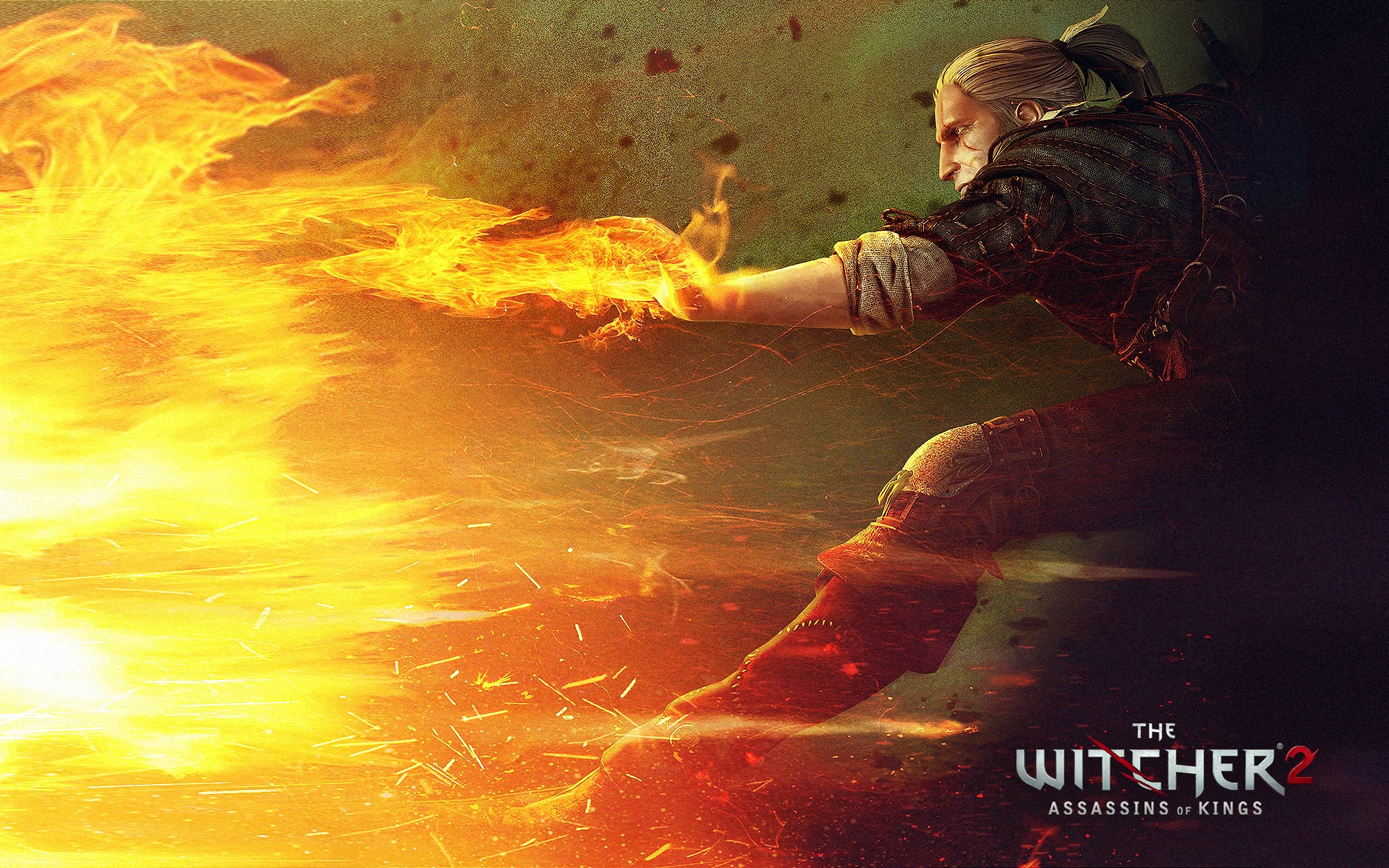 The Witcher 2 wallpaper 3