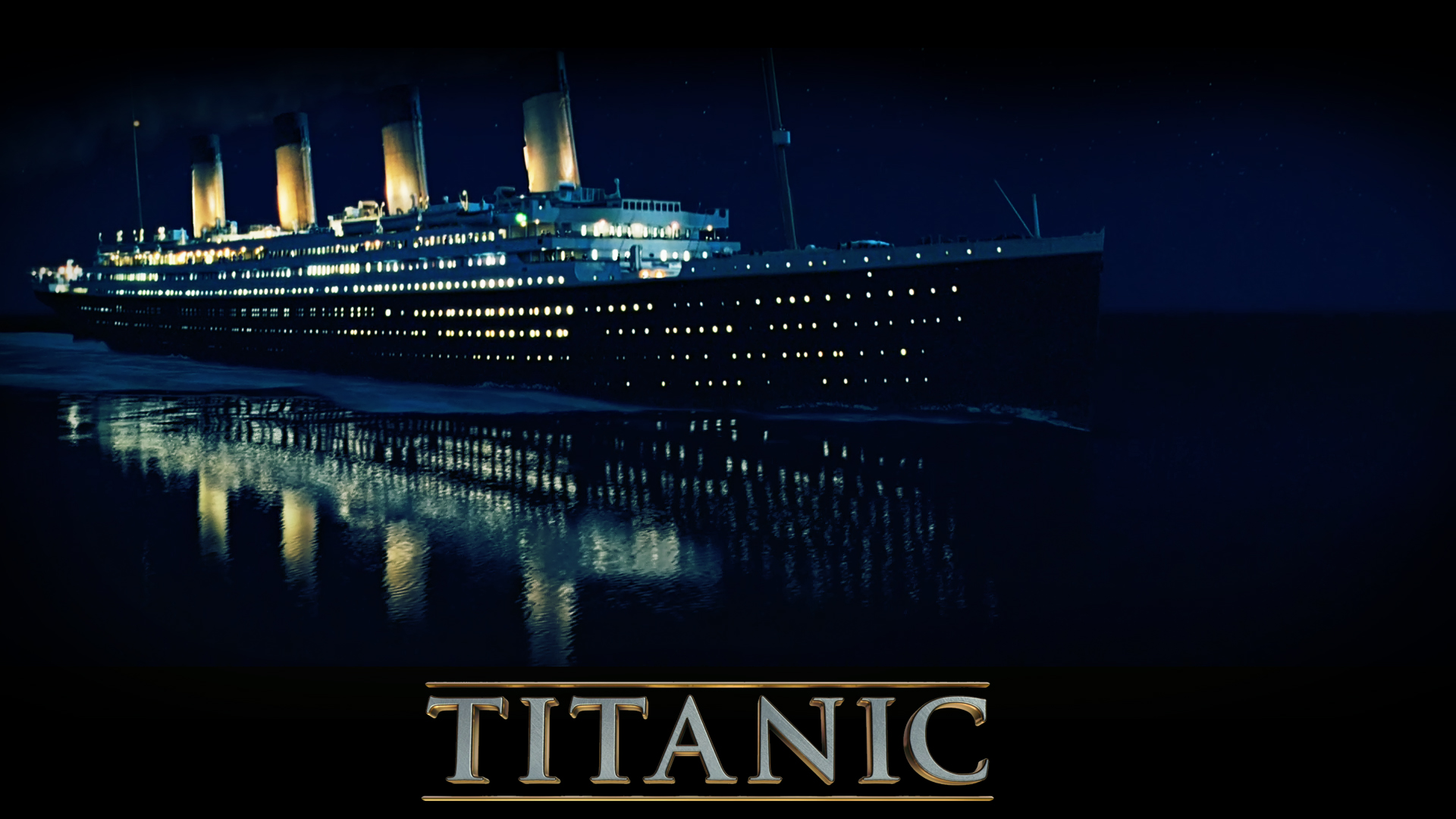 Titanic 3D wallpaper 1