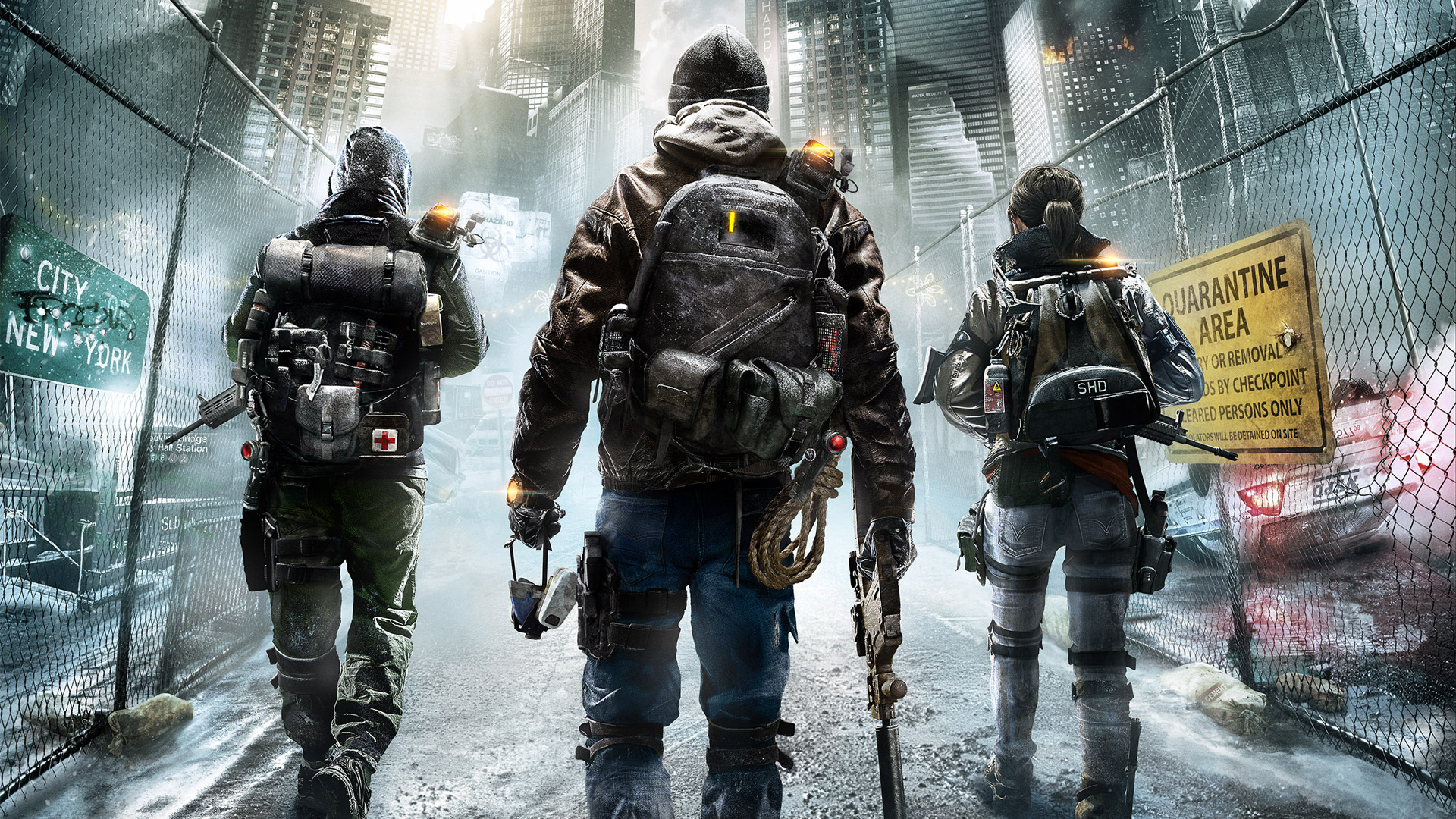 Tom Clancys The Division wallpaper 1
