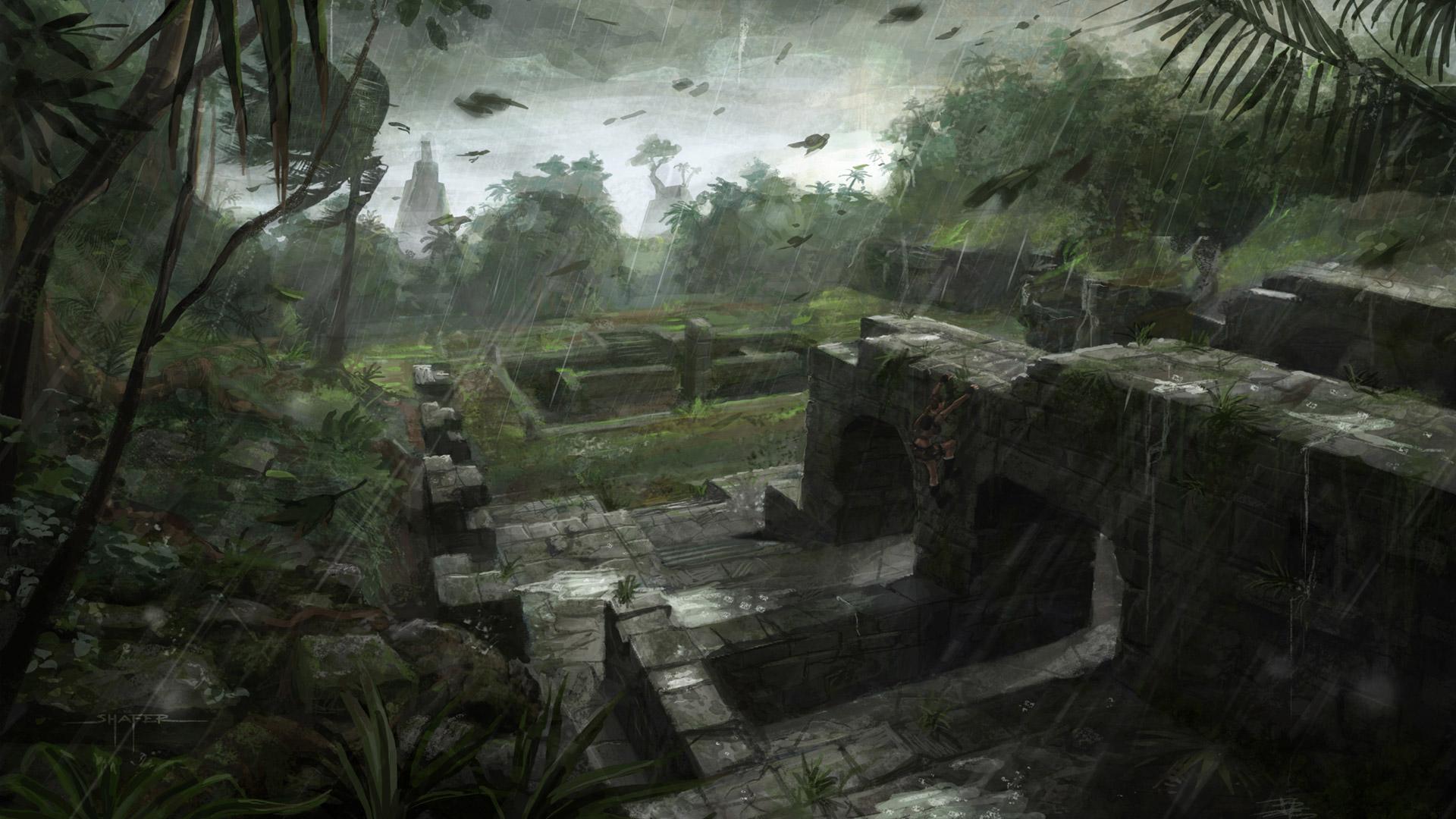 Tomb Raider Underworld wallpaper 1