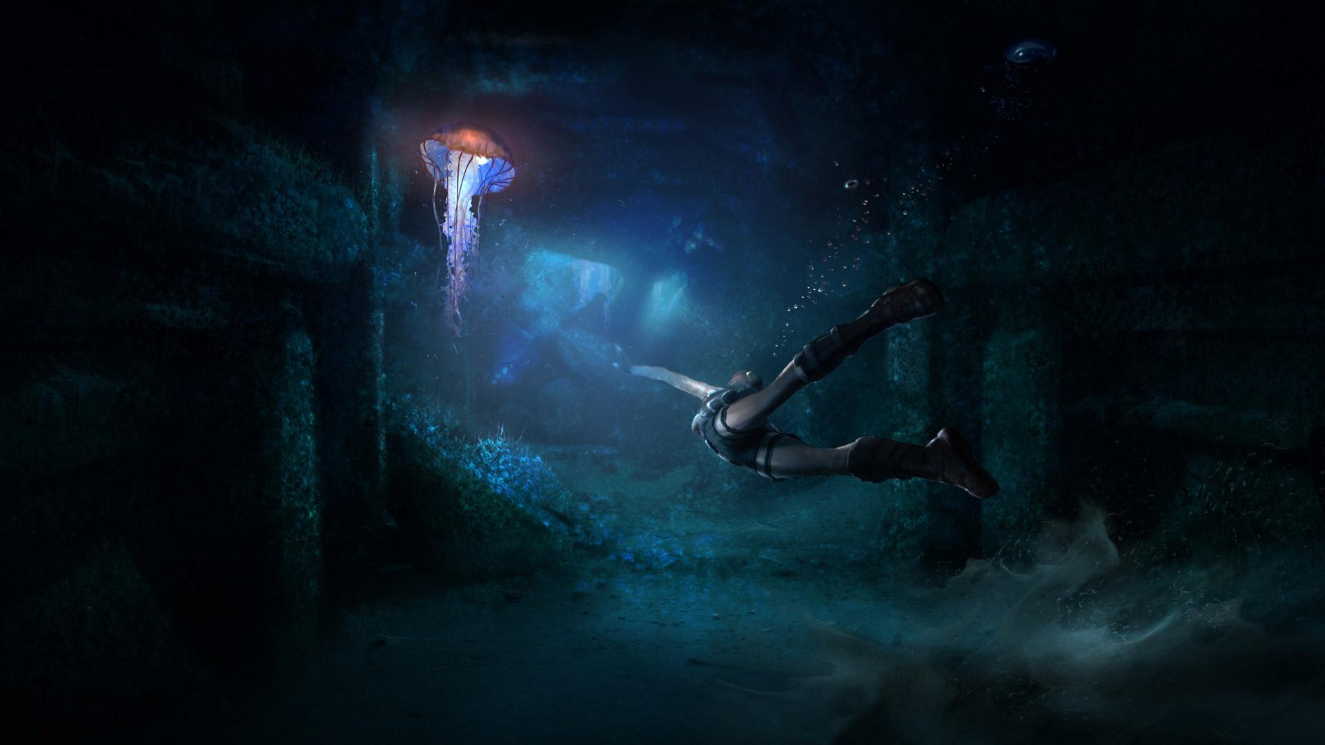 Tomb Raider Underworld wallpaper 4
