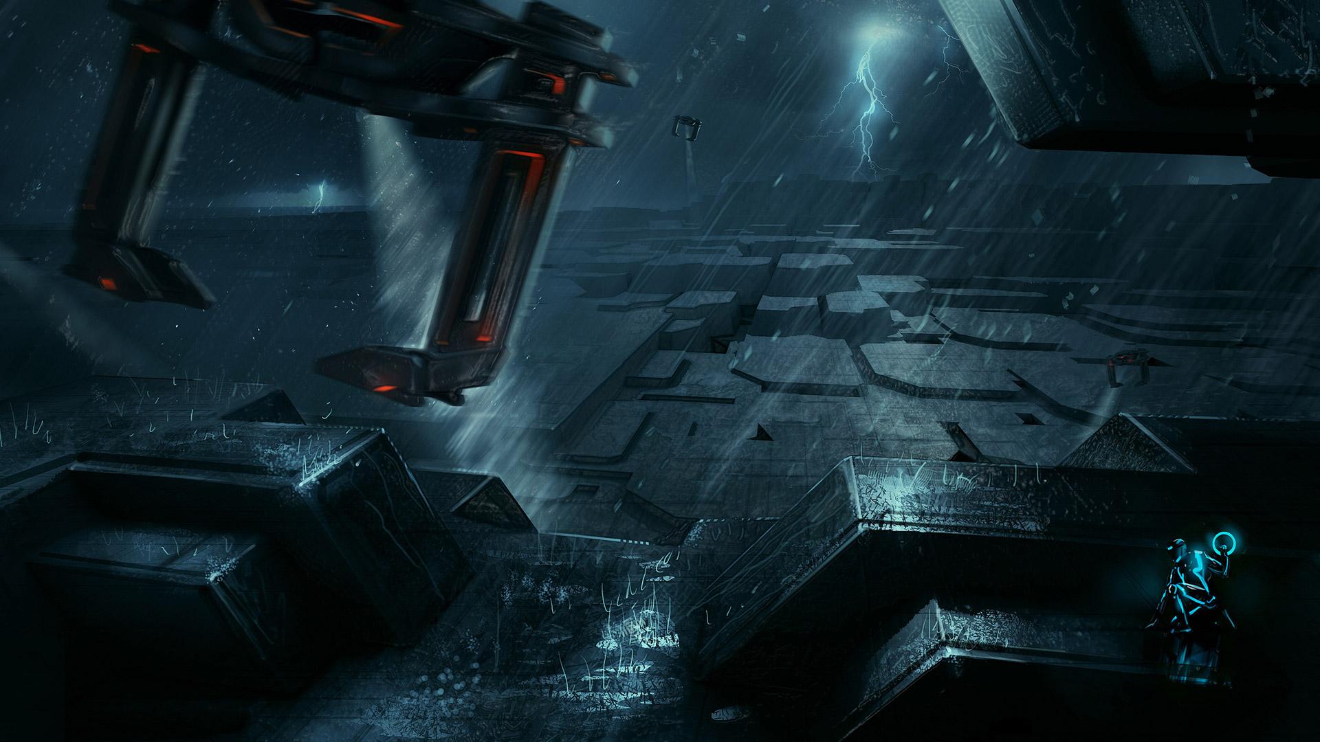 Tron Evolution wallpaper 2