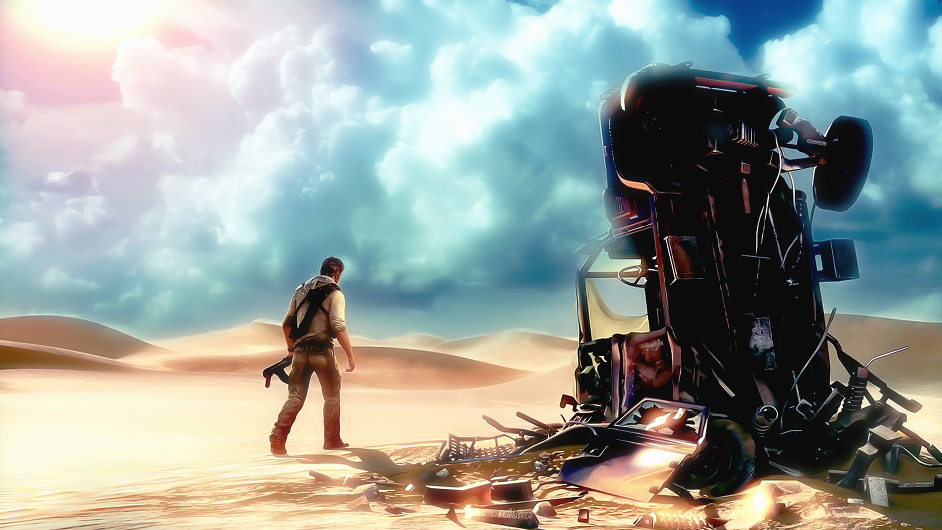 Uncharted 3 Drakes Deception wallpaper 1