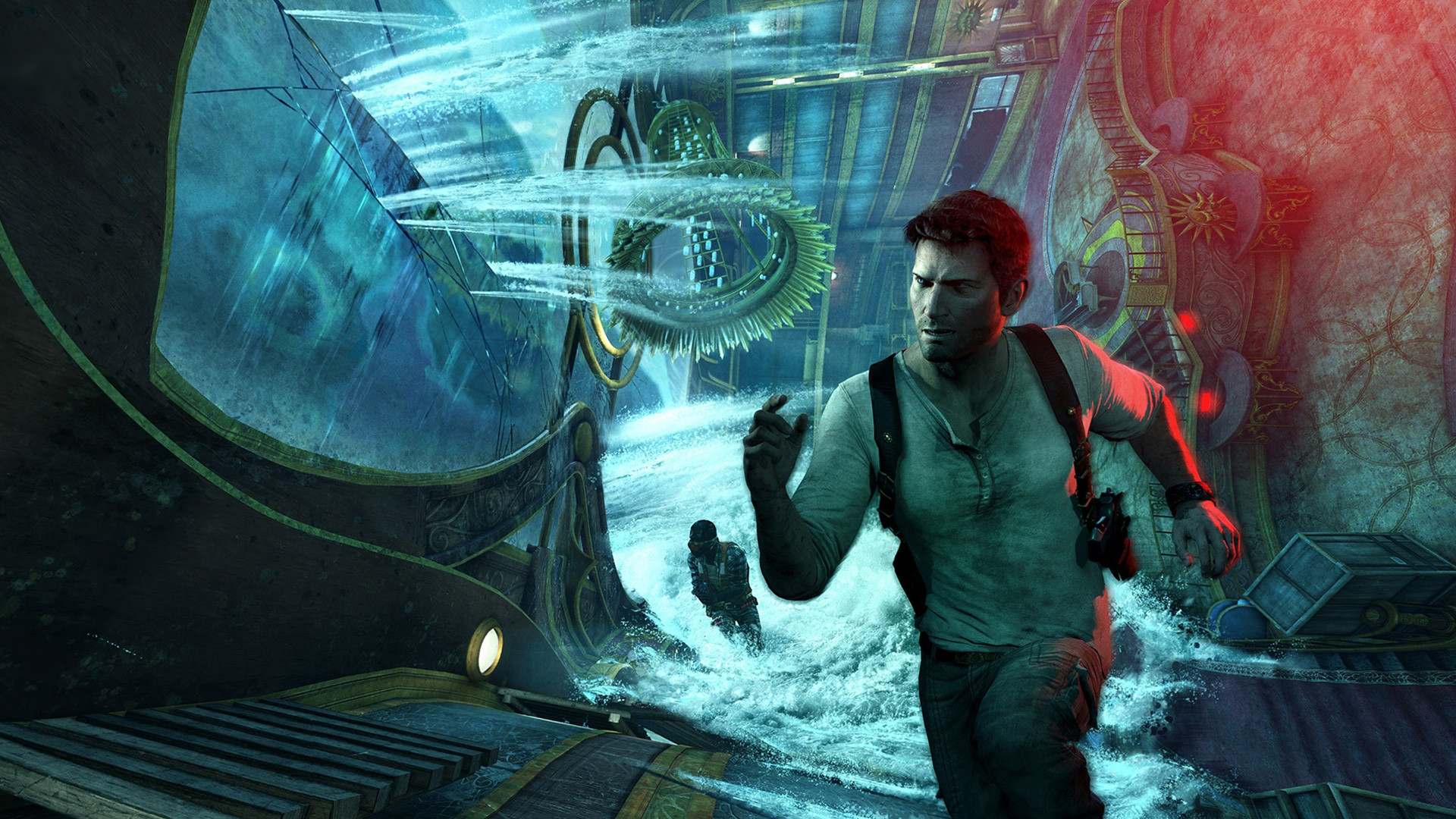 Uncharted 3 Drakes Deception wallpaper 3 | WallpapersBQ Uncharted 3 Drakes Deception Wallpaper