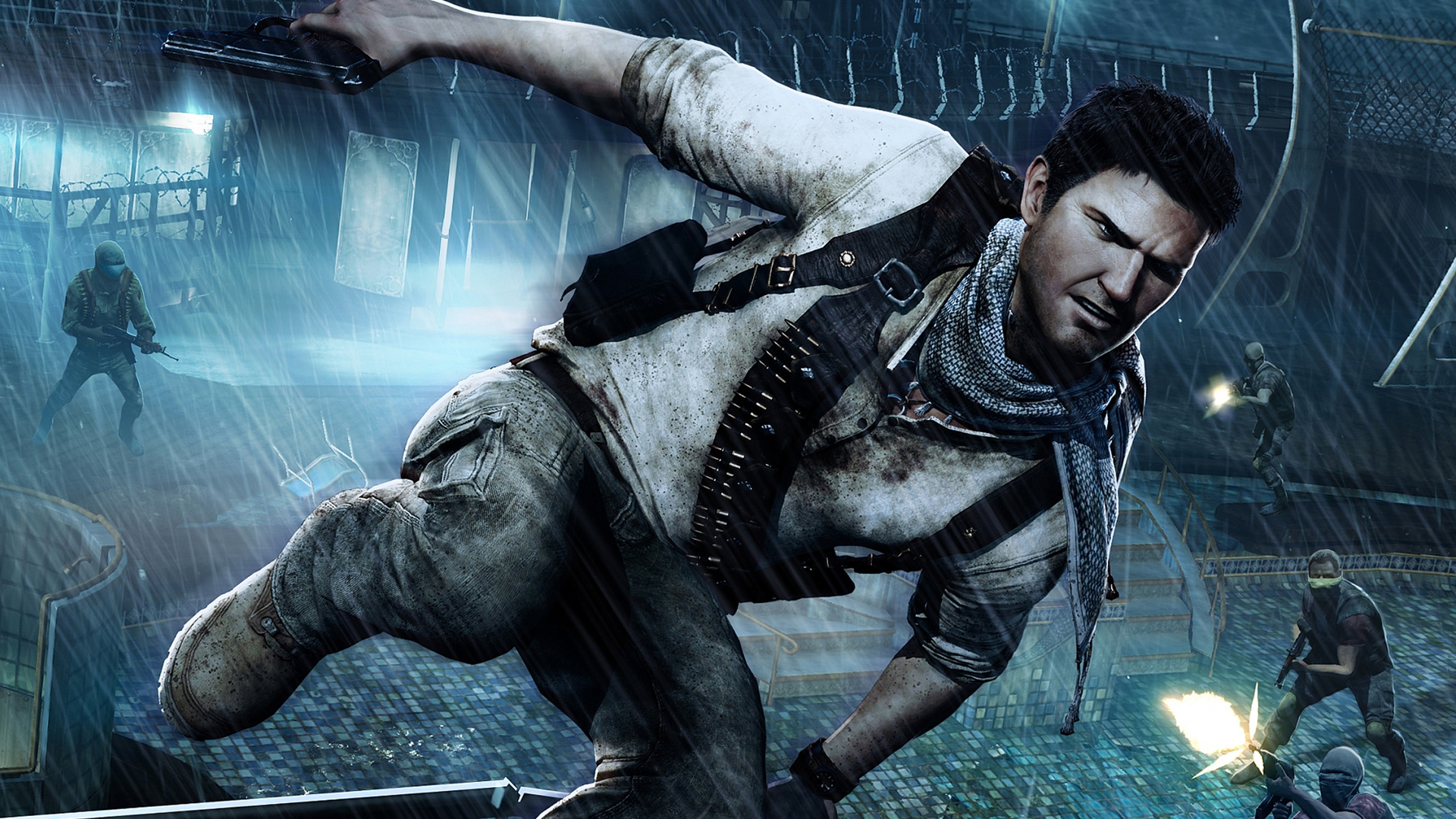 Uncharted 3 Drakes Deception wallpaper 7