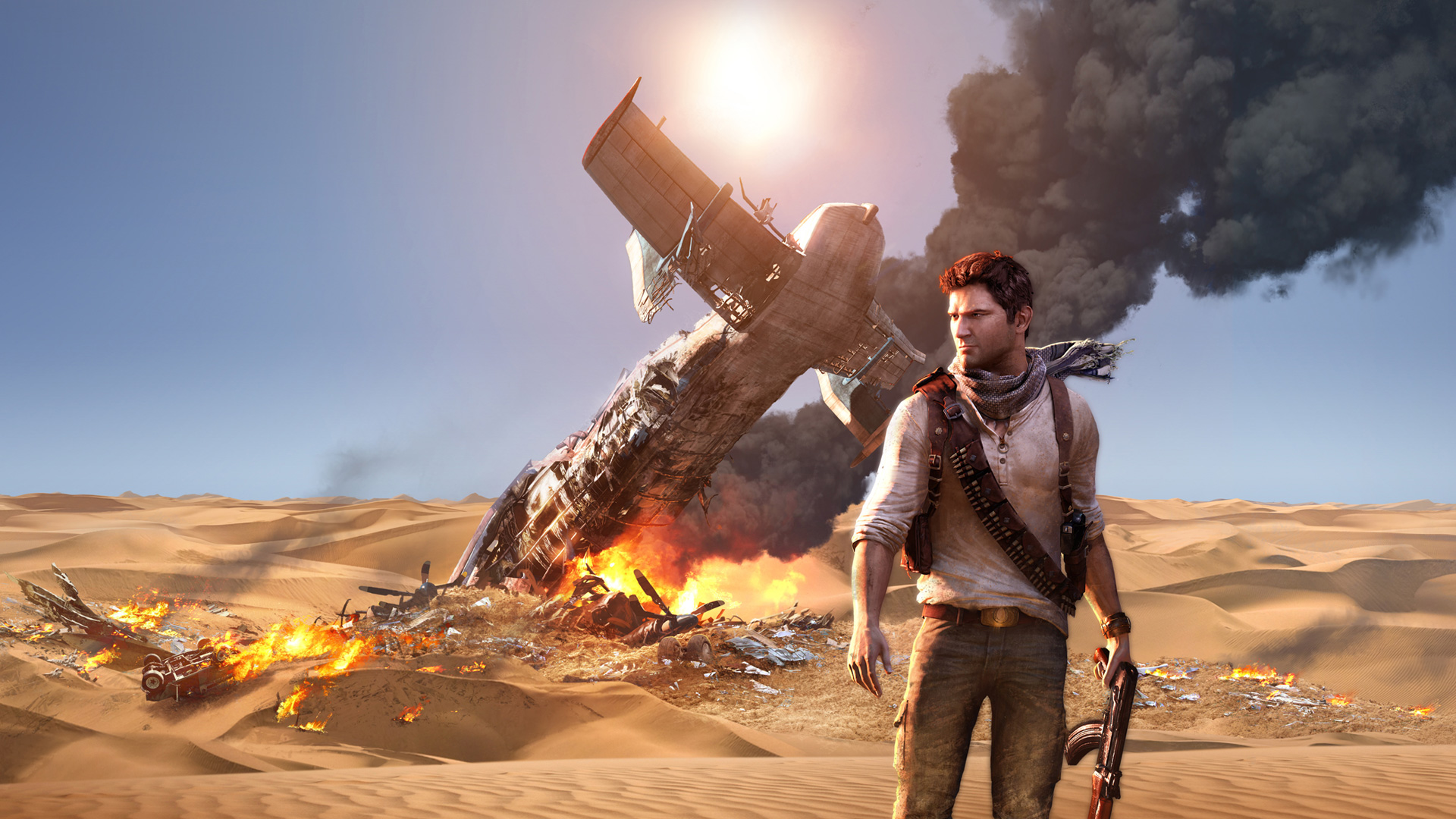 Uncharted 3 Drakes Deception wallpaper 9