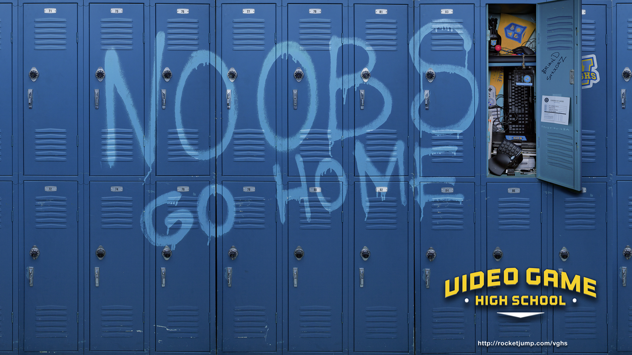VGHS Video Game High School wallpaper 1