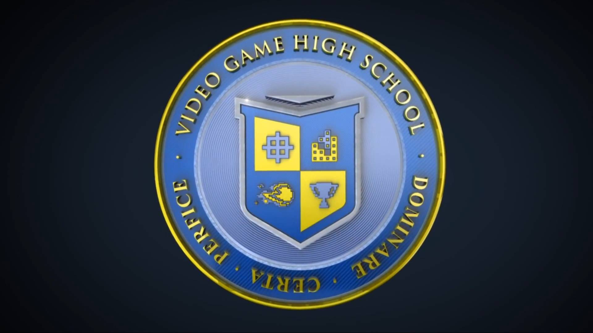 VGHS Video Game High School wallpaper 3