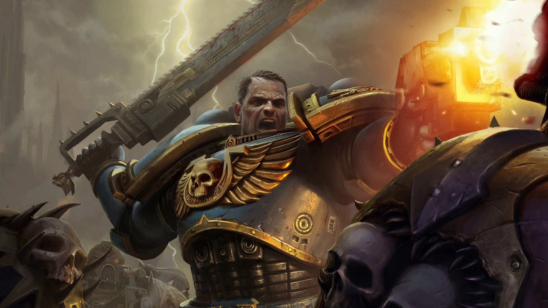 warhammer 40k space marine wallpaper 1 | wallpapersbq