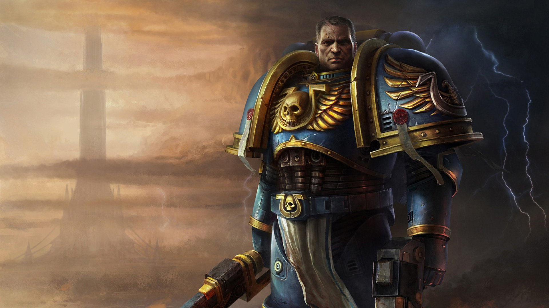 Warhammer 40K Space Marine wallpaper 3