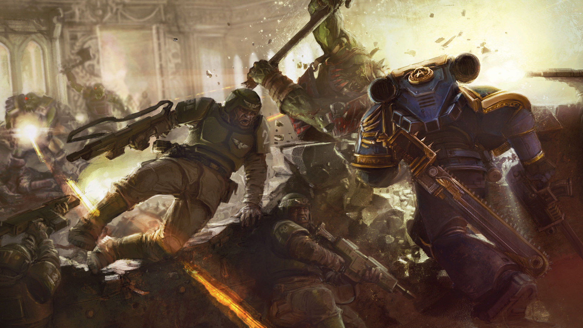 Warhammer 40K Space Marine wallpaper 6