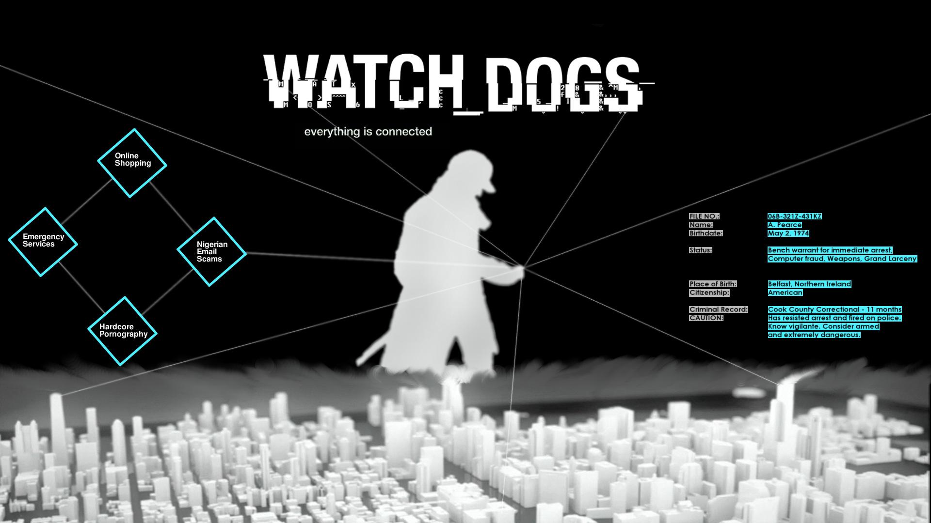 Watch Dogs wallpaper 1