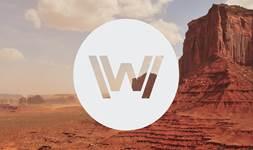 Westworld logo season 2 background 2