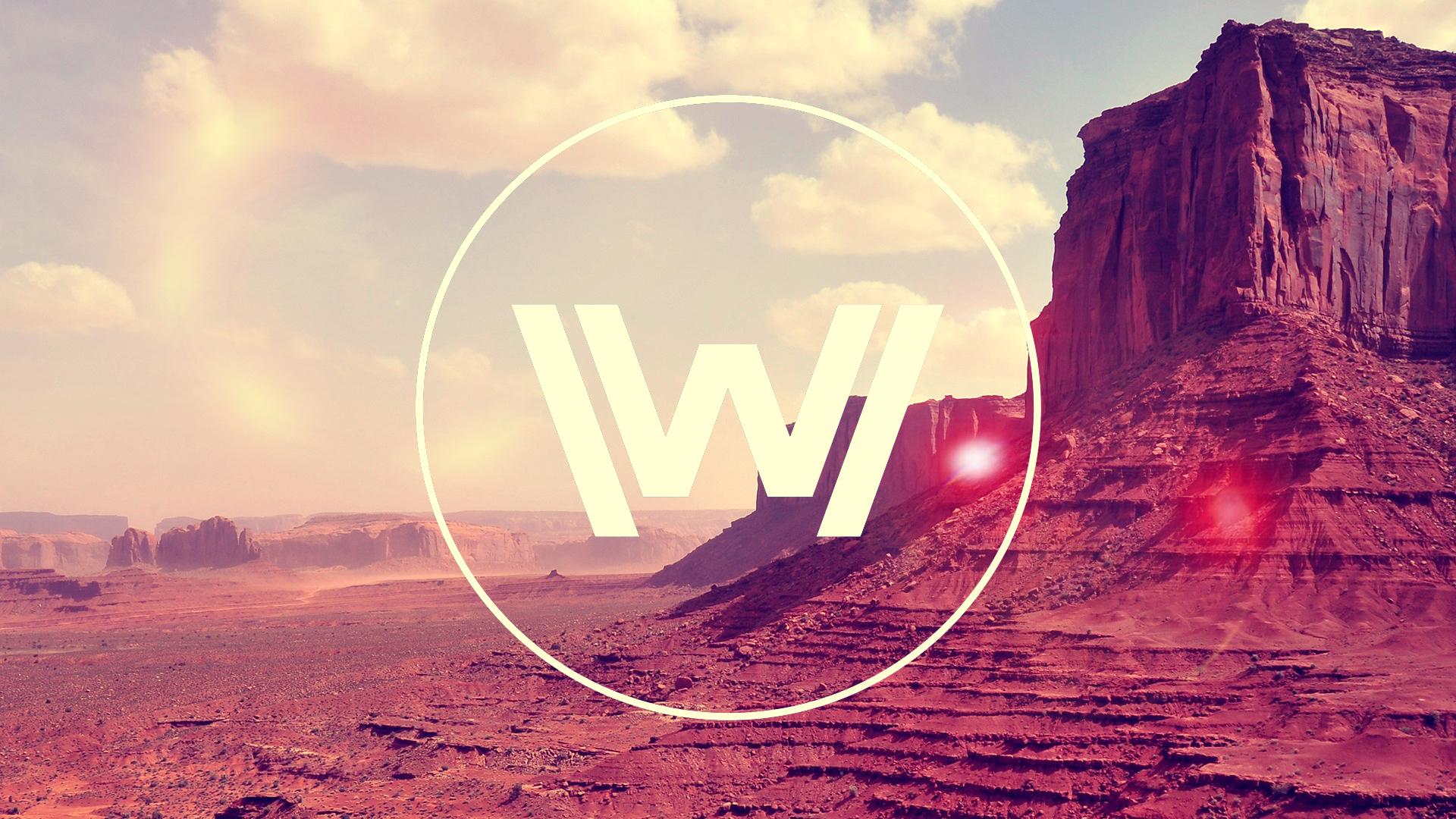 Westworld logo season 2 background 1
