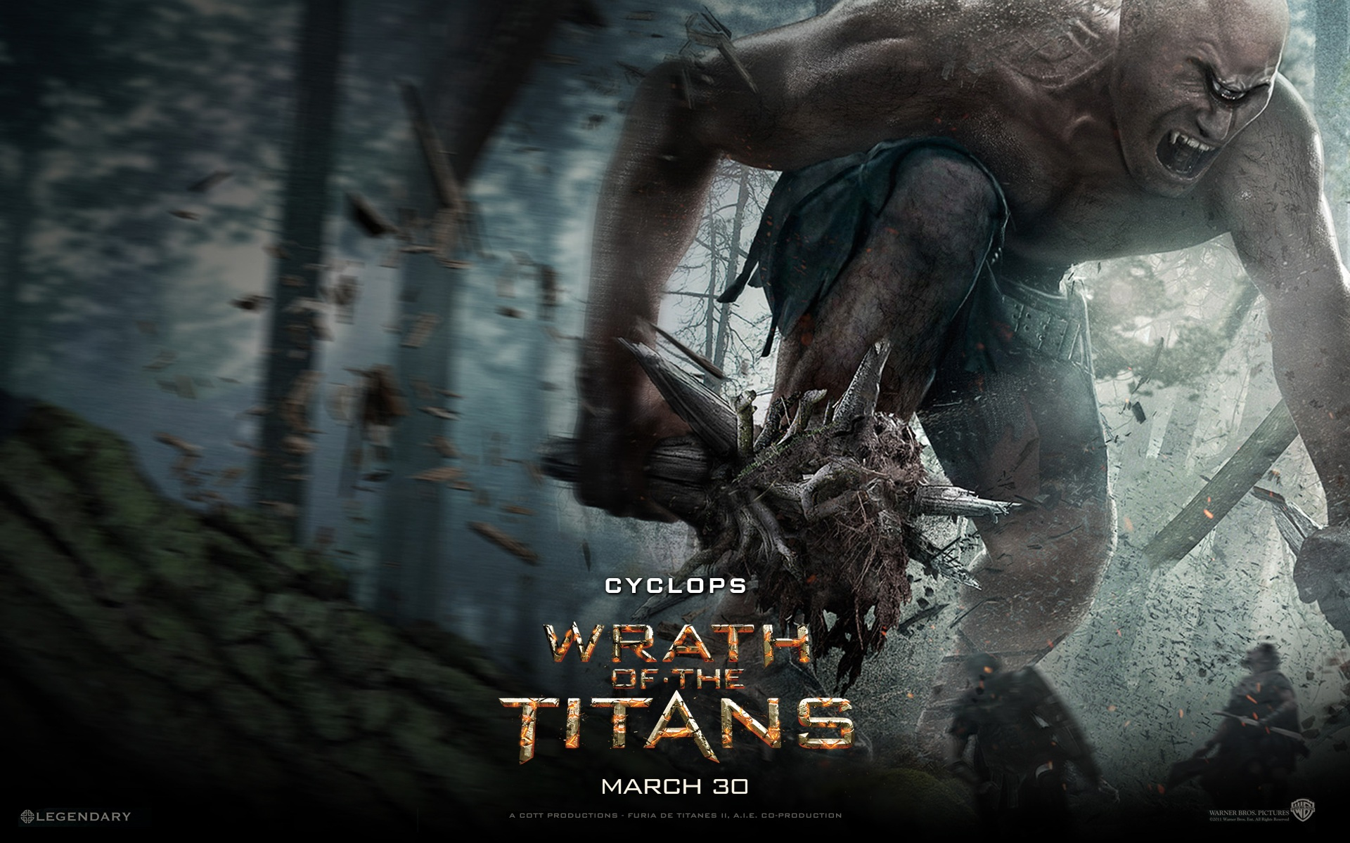 Wrath of The Titans wallpaper 13